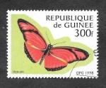 Sellos del Mundo : Africa : Guinea : 1426 - Mariposa