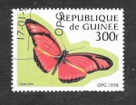 Stamps Guinea -  1426 - Mariposa