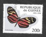 Stamps Guinea -  1424 - Mariposa