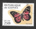 Stamps Guinea -  1425 - Mariposa