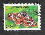 Sellos de Africa - Tanzania -  1450  - Mariposa