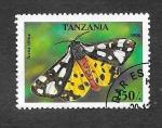 Sellos de Africa - Tanzania -  1449 - Mariposa