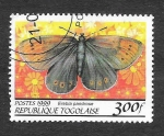 Stamps : Africa : Togo :  Yt1688AX - Mariposa