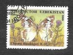 Sellos del Mundo : Asia : Uzbekistán : 84 - Mariposa