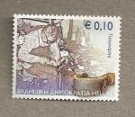 Sellos de Europa - Grecia -  Artesanos