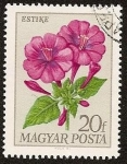 Stamps Hungary -  Flores - Estike