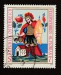 Stamps Austria -  Brigadas austriacas contra incendios