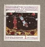 Stamps Bulgaria -  Pinturas infantiles