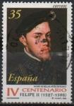 Stamps Spain -  IV centenario d´l´muerte d´Felipe II