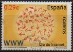 sellos de Europa - España -  Correos por la Sociedad d´l´Informacion Dia d´Internet