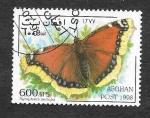 Sellos de Asia - Afganistán -  Mariposas