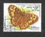 Sellos del Mundo : Asia : Afganistán : Mi1802 - Mariposas