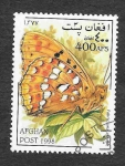Sellos del Mundo : Asia : Afganistán : Mi1798 - Mariposas