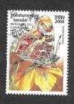 Stamps Cambodia -  1825 - Mariposas