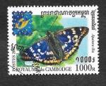 Sellos de Asia - Camboya -  2076 - Exposición Internacional de Filatelia (Bruselas)