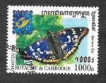 Stamps Cambodia -  2076 - Exposición Internacional de Filatelia (Bruselas)