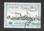Stamps São Tomé and Príncipe -  754d - 25º Aniversario de la Organización Marítima Internacional de las Naciones Unidas