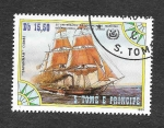 Sellos de Africa - Santo Tomé y Principe -  756a - XXV Aniversario de la Organización Marítima Internacional de las Naciones Unidas