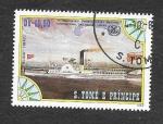 Stamps São Tomé and Príncipe -  756c - XXV Aniversario de la Organización Marítima Internacional de las Naciones Unidas