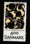 Stamps Denmark -  Pintura por Thorwald