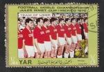 Sellos del Mundo : Asia : Yemen :  Y.A.R. - 226 - Selección de la URSS en el mundial de fútbol México 1970