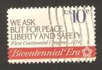 Sellos de America - Estados Unidos -  1032 - II Centº de la Independencia, Declaracion de Independencia