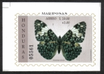Stamps : America : Honduras :  Mariposa de galleta (Hamadryas arinome)
