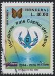 Stamps : America : Honduras :  País del agua - Organización de protección del agua