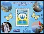 Stamps : America : Honduras :  Honduras - tierra de agua
