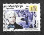 Sellos de Asia - Camboya -  Michael Faraday
