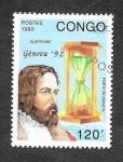 Sellos de Africa - República del Congo -  968 - Alonso de Ojeda