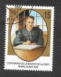 Stamps Cuba -  3902 - Centenario de la Muerte de la Capitana Isabel Rubio Díaz