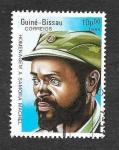 Sellos de Africa - Guinea Bissau -  761 - Homenaje a Samora Machel