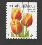Stamps Belgium -  Gladiolos