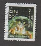 Sellos de Europa - Irlanda -  Cangrejo ermitaño