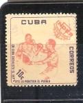 Sellos del Mundo : America : Cuba :  RESERVADO CHALS Boxeo