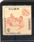 Sellos de America - Cuba -  RESERVADO CHALS Boxeo