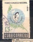 Sellos del Mundo : America : Cuba :  RESERVADO CHALS Congreso Nacional de mujeres
