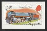 Sellos del Mundo : Asia : Omán : DHUFAR - Centº de Churchill, locomotora