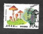 Stamps North Korea -  2815 - Champiñones y Frutas Silvestres