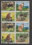Sellos de Asia - Nepal -  Macaca asamensis