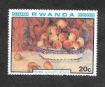 Stamps Rwanda -  983 - Impresionistas