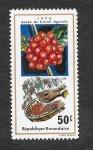 Stamps Rwanda -  634 - Año de Trabajo Agrícola