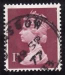 Sellos de Europa - Reino Unido -  BÁSICOS -Isabel ll