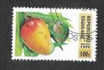 Stamps Togo -  1743 - Frutas