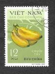 Sellos de Asia - Vietnam -  607 - Plátanos