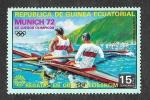 Sellos de Africa - Guinea Ecuatorial -  JJOO Munich`72