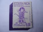 Sellos de America - Costa Rica -  Navidad 1984 -Pro Ciudad de los Niños Sobre Tasa Benéfica. Meditación.