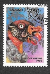 Sellos de Africa - Tanzania -  1284 - Aves Rapaces
