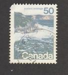 Stamps Canada -  Acantilados
